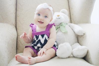 Bebê com 1 ano e 5 meses de idade