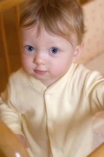 Bebê com 11 meses de idade