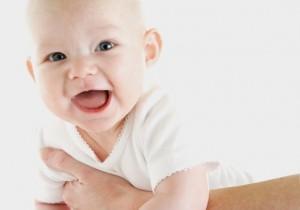 Bebê com 5 meses de idade
