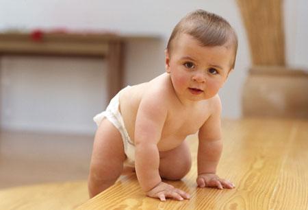 Bebê 7 com meses de idade