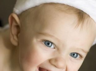 Bebê com 9 meses de idade