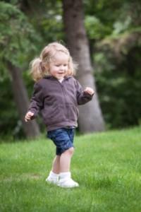 Criança com 3 anos e 6 meses de idade