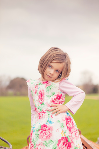 Criança com 4 anos de idade