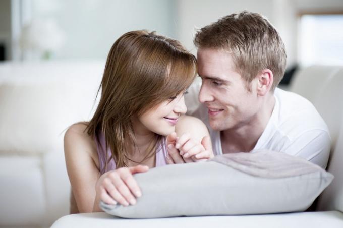 Casal juntos