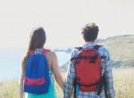 Namorados viajando