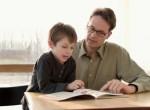 Pai educando fillho