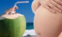 Os benefícios da água de coco para a grávida