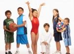 Crianças praticando esporte para ser verdadeiros atletas